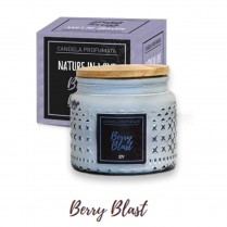 ERBA VITA Candela Profumata Berry Blast Blu