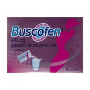 BUSCOFENPOCKET*OS 10BUST 400MG granulato per soluzione orale
