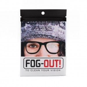 fog out SALVIETTEa ANTIAPPANNAMENTO per occhiali riutilizzabile