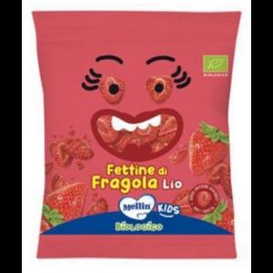 MELLIN Snack Biologico - Fettine di Fragola 8gr