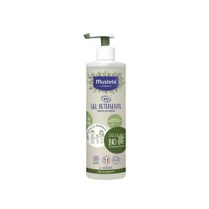 MUSTELA GEL detergente biologico corpo e capelli 400ML