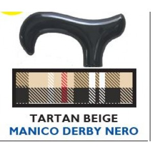 BASTONE DERBY TARTAN BEIGE/NE