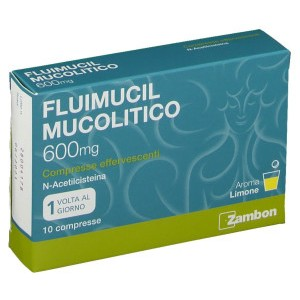 FLUIMUCIL MUCOL*10CPR EFF600MG