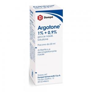 ARGOTONE*GTT RINO 20ML 1%+0,9%