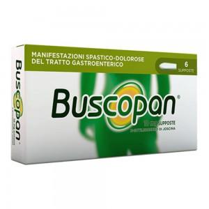 BUSCOPAN 6Supposte  10MG