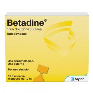 BETADINE*SOL CUT 10FL 10ML 10%