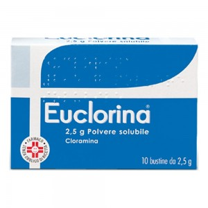 EUCLORINA*POLV SOL 10BUST 2,5G