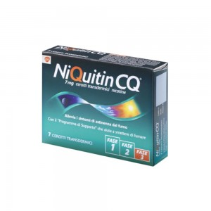 NIQUITIN*7CER TRANSD 7MG/24H