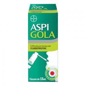 ASPI GOLA*OS SPRAY 15ML 0,25%