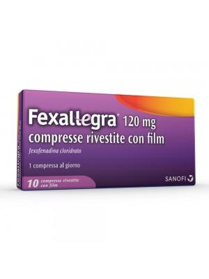 FEXALLEGRA*10CPR RIV 120MG