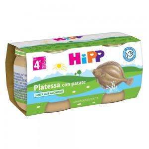 HIPP OMOG PLATESSA 2X80G