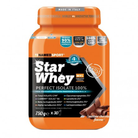STAR WHEY SUBLIME CHOCOLATE proteine named